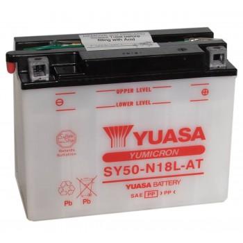 Аккумулятор Yuasa SY50-N18L-AT