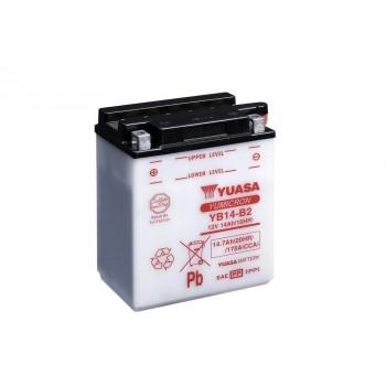 Аккумулятор Yuasa YB14-B2 /YTX14AH-BS (14-A2, 14B2, 14A-A2) /Polaris 4140006 /4011138 /4010774 /Arctic Cat 0745-045 /0645-165 /0445-005