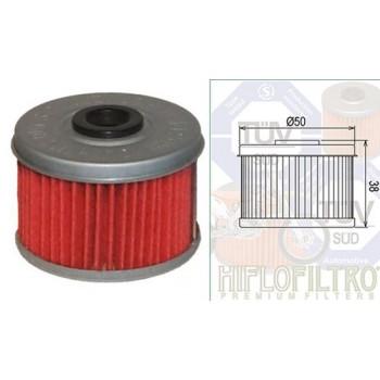 Фильтр масляный квадроцикла Honda 15412-HM5-A10 HIFLO FILTRO HF113