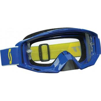 Маска квадроциклетная /кроссовая SCOTT TYRANT GOGGLE BLUE W/CLEAR LENS 51-1631