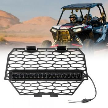 Решетка радиатора с встроенной диодной фарой для Polaris RZR 1000 /RZR 900 /RZR XP Turbo 14+ Kemimoto FTVHS002