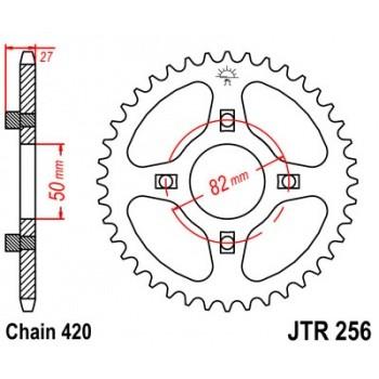 Звезда мотоцикла ведомая Honda CT70 /TRX70 79-94 JT JTR256.43 /55-25643