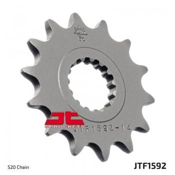 Звезда квадроцикла приводная 16 зубов на Yamaha Raptor 700, YFZ450 1212-0662 JT SPROCKETS JTF1592-16 / JTF1592.16