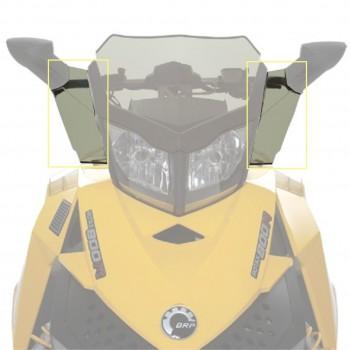 Дефлекторы низкого стекла снегохода Ski-Doo REV XP /Renegade /MXZ 860200498