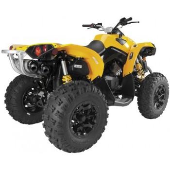 Глушители квадроцикла, алюминий BRP/CanAm Renegade 1000 2012+ Dual Stainless 005-3240409DV