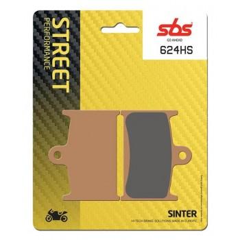 Тормозные колодки SBS, передние Sinter 624HS
