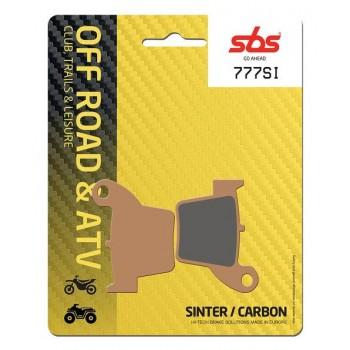 Тормозные колодки SBS, задние HONDA Sinter 777SI