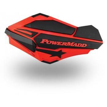 Защита рук квадроцикла /снегохода красные /черные PowerMadd Sentinel 18-95181 /34402