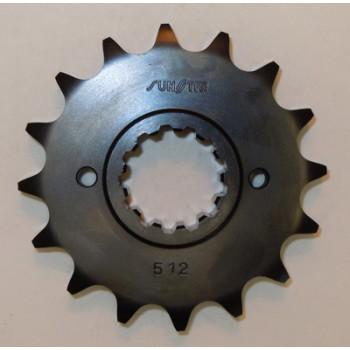 Звезда передняя/ ведущая 17 зубьев Honda X11 51217 стальная /JTF339-17