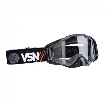 Маска для квадроцикла /кросса VSN Goggle Orange/Black/Grey HB301-Org/Blk/Gry