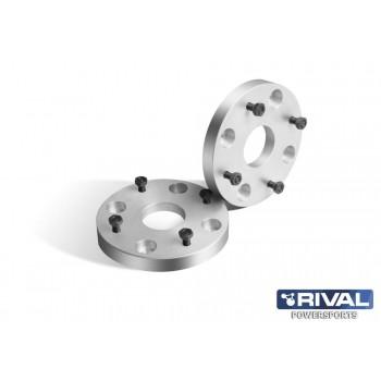 Проставки колесные  4*137 ЦО60 25мм, к-т 2 шт.  Rival S.3725.1