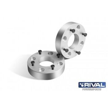Проставки колесные  4*110 ЦО67 40мм, к-т 2 шт.  Rival S.1040.1