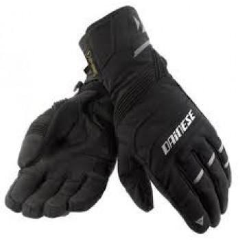 Перчатки зимние Dainese Garda D-Dry Waterproof черные (текстиль+кожа)  размер L