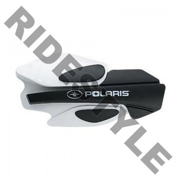 Защита рук квадроцикла/снегохода в сборе белые Polaris IQ/ Dragon 2876883 + 2879380
