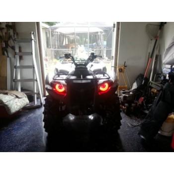 Ангельские глазки красные Yamaha Grizzly700/550  AZ 88978-00R